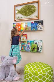 Invisible Floating Bookshelves For Kids Room