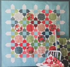 Picket Quilt Kit Featuring Painted Meadow By Robin Pickens For Moda