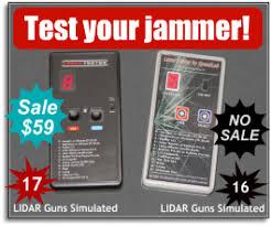 antilaser patent filed laser jammer tests