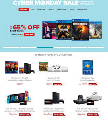 GameStop Cyber Monday Ad 2018