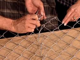 How To Make A Chain Link Headboard How Tos Diy