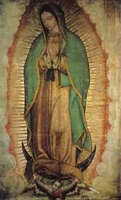 our lady of guadalupe poster virgen