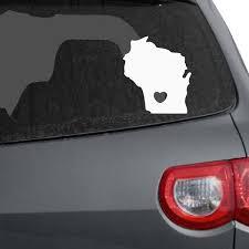 Wisconsin Car Decals The Decal Guru