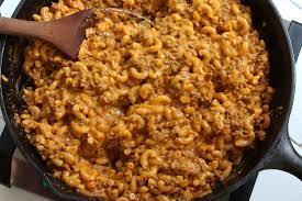 best homemade cheeseburger macaroni
