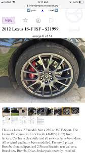 Isf Brembo Calipers Is The Brembo Decal Oem Or Aftermarket First Time I Ve Seen That Decal Instead Of The Lexus One On An Isf Lexus