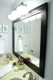 framing bathroom mirror bonellibsd co