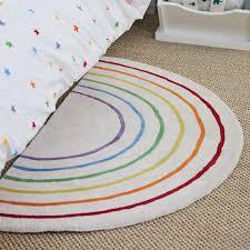 Rainbow Semi Circle Rug In 2020 Rainbow Girls Room Girls Rainbow Bedroom Rainbow Rug