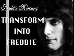 transform into fred mercury
