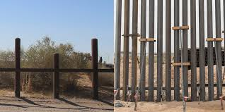 Photos Show Bollard Wall Construction Begins On Us Mexico Border Business Insider