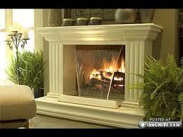 waterfall fireplace fireplace design