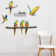Buy Cheap Parrot Window Decal Low Prices Free Shipping Online Store Joom