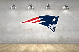 3d Patriots Football Badge Wall Sticker Multi Sizes Decal Etsy