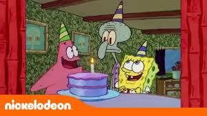 Feliz Cumpleanos Bob Esponja Nickelodeon En Espanol Youtube