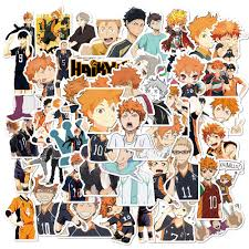 50pcs Anime Haikyuu Stickers Pack For Diy Laptop Phone Guitar Suitcase Skateboard Ps4 Toy Volleyball Teenager Haikyuu Sticker Stickers Aliexpress