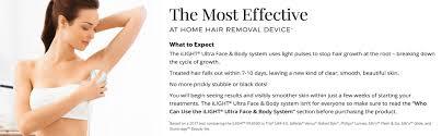 ilight ultra face and body ipl hair