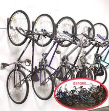 bicycle wall rider vertical bike