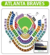 atlanta braves seating chart braves