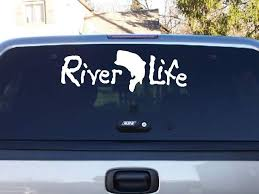 River Life Decal Pirate Life River Life Life