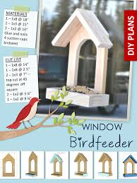 window birdfeeder ana white