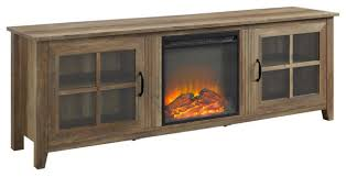 70 farmhouse wood fireplace tv stand