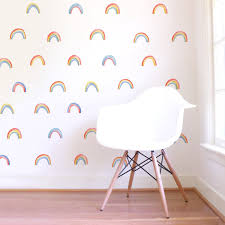 Watercolor Rainbow Wall Decals Project Nursery