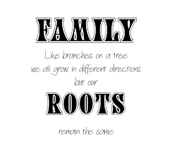 family quotes create a poster family tree or as is