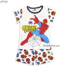 Đồ bộ cho bé trai người nhện – DoChoBeYeu.com