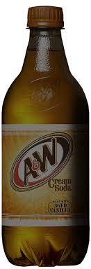 vanilla cream soda a w