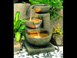 backyard garden water fountains