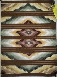 Rug of the Day: The Zoned Diamonds of Verna Smith - Weaving in Beauty