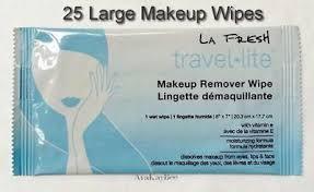 makeup remover wipes indiv sealed