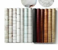 Vinyl Wood Grain Stickers Self Adhesive Cabinet Furniture Wall Decal Sticker New Ebay