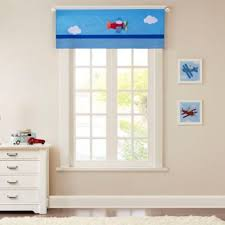Mi Zone Kids Totally Transit Window Valance In Blue Buybuy Baby