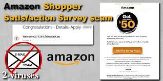 amazon per satisfaction survey scam