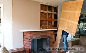 replace wood paneling with dry wall