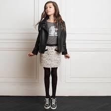 kids girls mini me odina leather jacket