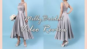 bridesmaid dresses best high low a