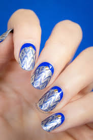 ruffian ikat nails with incoco nail
