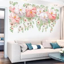 Large Flower Wall Decals The Treasure Thrift Flower Wall Decals Wall Decor Bedroom Large Wall Decals