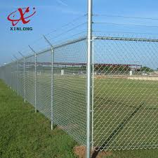 Hot Dip Galvanized Construction Fence Panels Temporary Security Fence