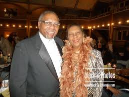 Board chairperson CT and Rosalyn Smith
