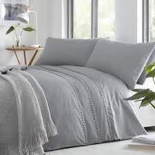 tassel trim duvet quilt cover bedding