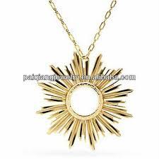 unique design diamond initial gold sun