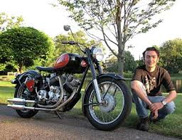 who invented the enfield v twin