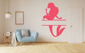 Design With Vinyl Ariel Little Mermaid Vinyl Wall Decal Wayfair