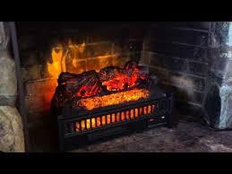 electric log heater fireplace insert