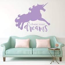 Unicorn Wall Decal Unicorn Sticker Rb113 Designedbeginnings