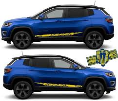 Graphics Decal Stickers Vinyl Decal Sticker For Jeep Compass