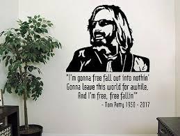 Tom Petty 5 Vinyl Decal For Car Truck Window Wall Office Home Car Decals Vinyl Wall Decals Tom Petty