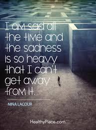 sad quotes about depression com